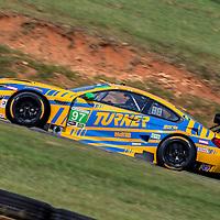 Alton, VA - Aug 26, 2016:  The Turner Motorsport BMW M6 GT3 races through the turns at the Michelin GT Challenge at VIR at Virginia International Raceway in Alton, VA.