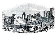 Dudley [West Midlands, England] Priory and Castle From the book The wanderings of a pen and pencil by Palmer, F. P. (Francis Paul); Illustrated by Crowquill, Alfred, [Alfred Henry Forrester]  Published in London by Jeremiah How in 1846