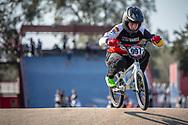 #997 (SCHAUB Philip) GER during practice at Round 9 of the 2019 UCI BMX Supercross World Cup in Santiago del Estero, Argentina