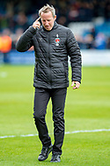 Charlton Athletic manager Lee Bowyer after the EFL Sky Bet League 1 match between Gillingham and Charlton Athletic at the MEMS Priestfield Stadium, Gillingham, England on 27 April 2019.