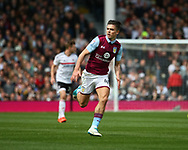 Jack Grealish of Aston Villa during the Sky Bet Championship match at Craven Cottage, London<br /> Picture by Richard Brooks/Focus Images Ltd 07947656233<br /> 17/04/2017