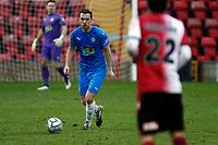 Jordan Keane. Woking FC 1-4 Stockport County FC. Vanarama National League. KIngfield Stadium. 30.1.21