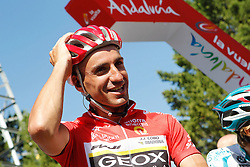 29.08.2011, Andalusien, ESP, LA VUELTA 2011, Stage 17, im Bild Juan Jose Cobo during during the stage of La Vuelta 2011 between Faustino V and Pena Cabarga.September 7,2011. EXPA Pictures © 2011, PhotoCredit: EXPA/ Alterphoto/ Acero +++++ ATTENTION - OUT OF SPAIN/(ESP) +++++