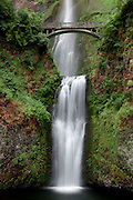Multnomah Falls in the Columbia River Gorge, Oregon.