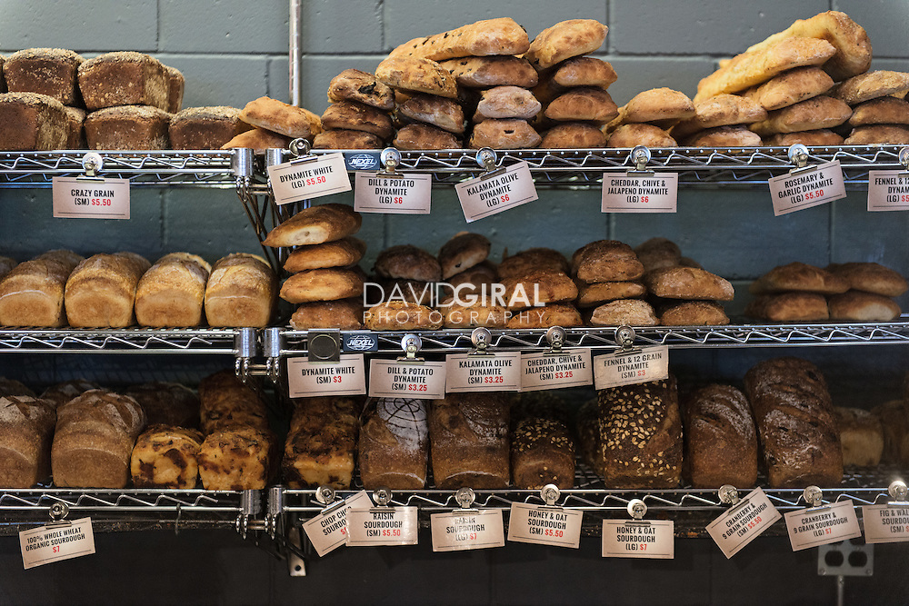Assortiment of Breads at Art-Is-In Bakery - 250 City Centre Ave. #112 in Ottawa