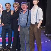 NLD/Amsterdam//20140323 - Perspresentatie musicalbewerking Moeder, Ik Wil Bij De Revu, cast,