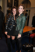 MARISSA CALDERON; PERDITA WEEKS; , The Gentleman's Journal Autumn Party, in partnership with Gieves and Hawkes- No. 1 Savile Row London. 3 October 2013
