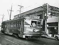 1946 Streetcar in Hollywood