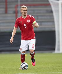Victor Nelsson (Danmark) under U21 EM2021 Kvalifikationskampen mellem Danmark og Ukraine den 4. september 2020 på Aalborg Stadion (Foto: Claus Birch).