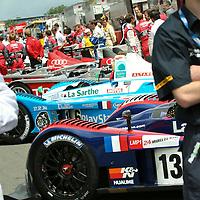 Starting line-up, Le Mans 24Hr 2007
