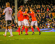 Ragnar Sigur?sson of Brighton and Hove Albion during the Sky Bet Championship match at Craven Cottage, London<br /> Picture by Richard Brooks/Focus Images Ltd 07947656233<br /> 02/01/2017