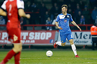 Jamie Stott. Kidderminster Harriers FC 3-1 Stockport County FC. Vanarama National League North. 10.4.18