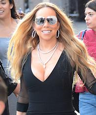 Mariah Carey arriving at Jimmy Kimmel - 7 June 2018