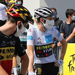 LIBOURNE (FRA) CYCLING: July 16<br /> 19th stage Tour de France Mourenx-Libourne<br /> Jonas Vingegaard