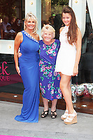 Carol Wright, Patricia 'Nanny Pat' Brooker & Natalia Wright, Jessica Wright - Pop-Up Store Launch, Westfield Stratford City, London UK, 15 August 2013, (Photo by Brett D. Cove)