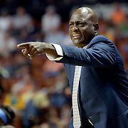 UNCASVILLE, CONNECTICUT- JUNE 3:   Atlanta Dream head coach Michael Cooper on the sideline during the Atlanta Dream Vs Connecticut Sun, WNBA regular season game at Mohegan Sun Arena on June 3, 2016 in Uncasville, Connecticut. (Photo by Tim Clayton/Corbis via Getty Images)