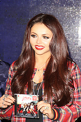 Jesy Nelson, Little Mix: Salute Album Signing, HMV Oxford Circus, London UK, November 11 2013, Photo by Brett Cove © Licensed to London News Pictures. Photo credit : Brett D. Cove/Piqtured/LNP