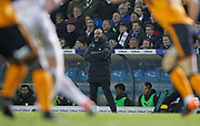Wolverhampton Wanderers Head Coach Nuno Espírito Santoduring the EFL Sky Bet Championship match between Leeds United and Wolverhampton Wanderers at Elland Road, Leeds, England on 7 March 2018. Picture by Paul Thompson.