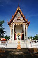 Watt Prok a Buddhist Temple at Ta Luang Thailand near Damnoen Saduak