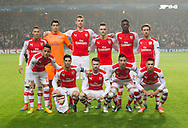Arsenal's team group<br /> <br /> UEFA Champions League- Arsenal vs Borussia Dortmund- Emirates Stadium - England - 26th November 2014 - Picture David Klein/Sportimage