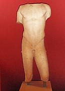 Torso of a boy.  2nd Century AD Roman copy of a 5th century BC Greek sculpture, known as Eros Soranzo.
