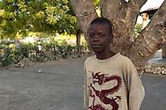 Haitian boy. Souvenance, Haiti, January 23, 2008.