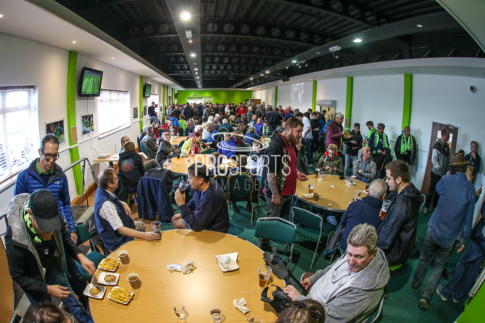 Green Man during the EFL Sky Bet League 2 match between Forest Green Rovers and Exeter City at the New Lawn, Forest Green, United Kingdom on 4 May 2019.