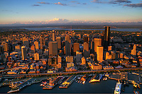 Seattle Waterfront @ Sunset