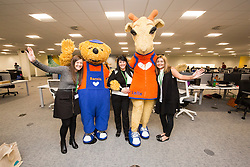 The official opening of the Thomas Cook holiday contact centre at Central Park, Larbert.