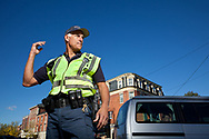 """""""Officer Friendly"""" Kevin Semprini Directing Traffic"""