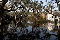 05 Sept  2005. New Orleans, Louisiana. Post hurricane Katrina.<br /> Devastating floods in Uptown New Orleans.<br /> Photo; ©Charlie Varley/varleypix.com