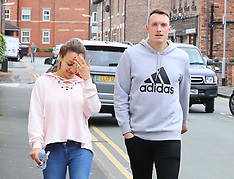 Phil Jones out in Cheshire - 3 Nov 2017