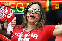 Poland supporter<br /> Moscow 19-06-2018 Football FIFA World Cup Russia  2018 <br /> Poland - Senegal / Polonia - Senegal <br /> Foto Matteo Ciambelli/Insidefoto