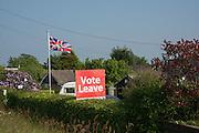 Vote Leave, NEAR, Heathfield Agricultural show. little tottingworth farm, broad oak, 28 May 2016