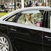 Koningin Maxima bezoekt Nibud Jubileumcongres in haar functie van erevoorzitter van platform Wijzer in geldzaken. Het Nibud bestaat 35 jaar en organiseert daarom een jubileumcongres dat in het teken staat van het financiële gedrag van de consument. <br /> <br /> Queen Maxima visits Nibud Jubilee Congress in its role as president of platform Wiser in money matters. Nibud exists 35 years and organizes an anniversary conference which will focus on the financial behavior of consumers.<br /> <br /> op de foto / On the photo: