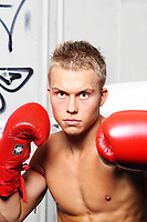 Boksetalentet Eirik Sjursen<br /> 8.01.08<br /> <br /> Foto: Eirik Førde
