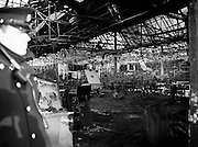 The burnt-out shell of the Stardust nightclub.<br /> 14 February 1981