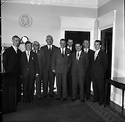 Corporation Nationalist Members of Derry visit An Taoiseach Sean Lemass..29.07.1961