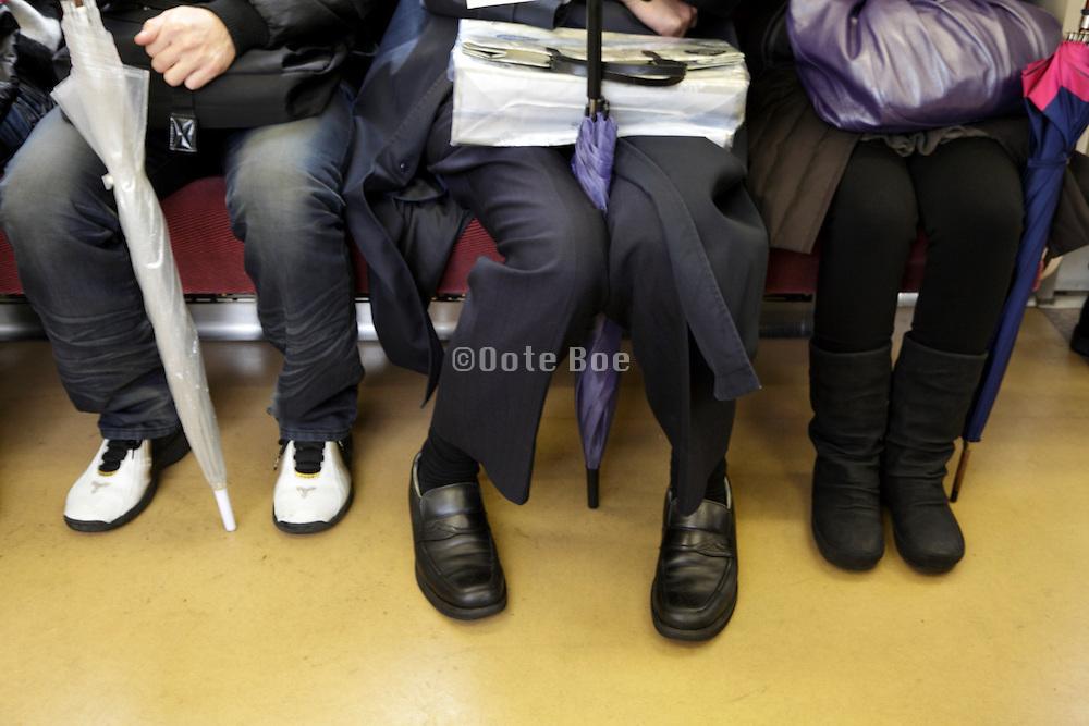 commuters Tokyo Japan