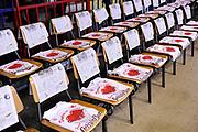 DESCRIZIONE : Reggio Emilia Lega A 2014-15 Grissin Bon Reggio Emilia - Banco di Sardegna Sassari playoff Finale gara 1 <br /> GIOCATORE : panoramica<br /> CATEGORIA : pregame before<br /> SQUADRA : Grissin Bon Reggio Emilia<br /> EVENTO : LegaBasket Serie A Beko 2014/2015<br /> GARA : Grissin Bon Reggio Emilia - Banco di Sardegna Sassari playoff Finale gara 1<br /> DATA : 14/06/2015 <br /> SPORT : Pallacanestro <br /> AUTORE : Agenzia Ciamillo-Castoria /M.Marchi<br /> Galleria : Lega Basket A 2014-2015 <br /> Fotonotizia : Reggio Emilia Lega A 2014-15 Grissin Bon Reggio Emilia - Banco di Sardegna Sassari playoff Finale gara 1<br /> Predefinita :