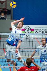 Jesper van Muiden #10 of Lycurgus in action during the league match Taurus - Amysoft Lycurgus on January 16, 2021 in Houten.