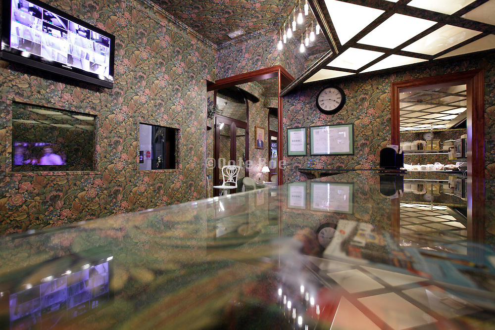 lobby of a hotel