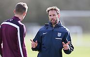 England U21 Training 290315
