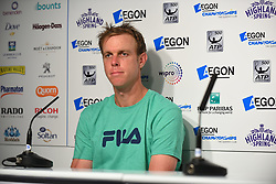 June 22, 2017 - London, England, United Kingdom - Sam Querrey of the US during the press conference at AEGON Championships at Queen's Club, in London, UK, on June 22, 2017. (Credit Image: © Alberto Pezzali/NurPhoto via ZUMA Press)