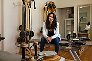 Shannon Adams, Owner of Urban Body San Jose, poses for a portrait at Urban Body San Jose, in San Jose, California, on July 13, 2018. (Stan Olszewski/SOSKIphoto for Silicon Valley Business Journal)