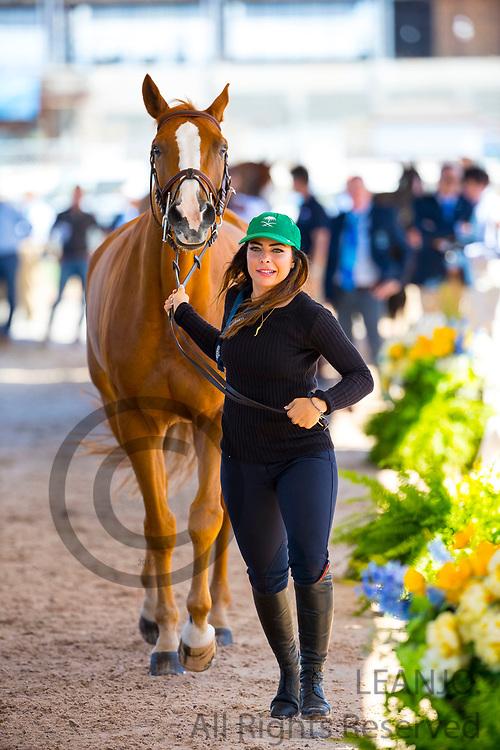 Dalma Malhas - Toscanini Malpic<br /> FEI World Equestrian Games Tryon 2018<br /> © DigiShots