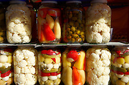 Pickled vegetables - Hungarian .<br /> <br /> Visit our HUNGARY HISTORIC PLACES PHOTO COLLECTIONS for more photos to download or buy as wall art prints https://funkystock.photoshelter.com/gallery-collection/Pictures-Images-of-Hungary-Photos-of-Hungarian-Historic-Landmark-Sites/C0000Te8AnPgxjRg