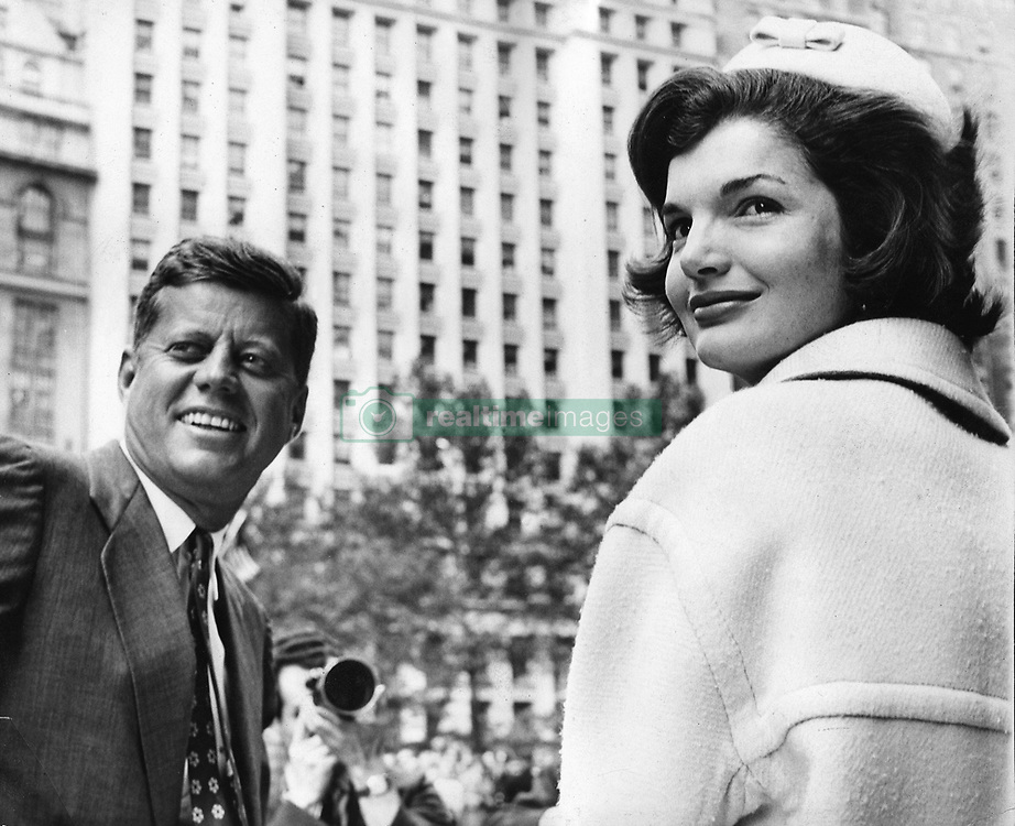 Oct. 12, 1961 - New York, NY, U.S. - JOHN F. KENNEDY was the 35th President of the United States, as well as the youngest. PICTURED: President Kennedy with First Lady JACKIE KENNEDY at a Broadway Ticker Tape Parade. (Credit Image: © KEYSTONE Pictures USA/ZUMAPRESS.com)