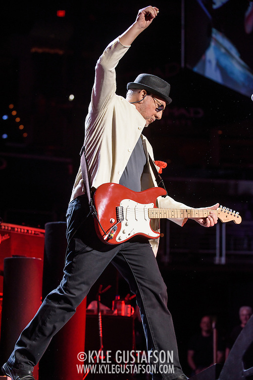 WASHINGTON, DC - March 24th, 2016 - Pete Townshend of The Who performs at the Verizon Center in Washington, D.C. as part of the group's The Who Hits 50! tour. The band has hinted that this will be their final world tour. (Photo by Kyle Gustafson / For The Washington Post)