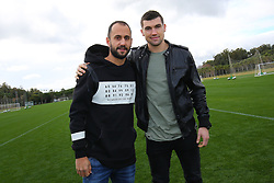 January 6, 2018 - San Roque, SPAIN - Club's former player Victor Vazquez Solsona and Club's former player Mathew Ryan pictured during day three of the winter training camp of Belgian first division soccer team Club Brugge, in San Roque, Spain, Saturday 06 January 2018. BELGA PHOTO BRUNO FAHY (Credit Image: © Bruno Fahy/Belga via ZUMA Press)